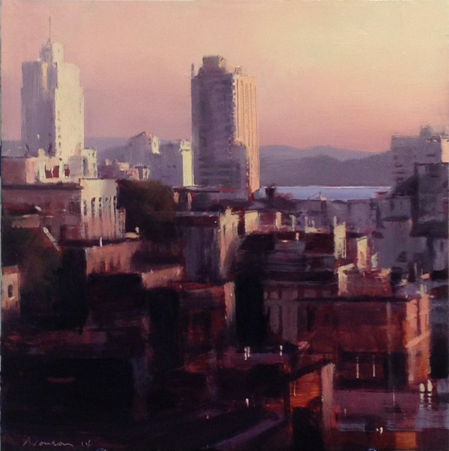 , 'Sunrise from Nob Hill,' 2014, Jenkins Johnson Gallery