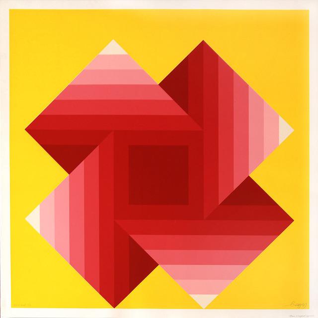 , 'Four Warped Squares,' ca. 1975, Peyton Wright Gallery