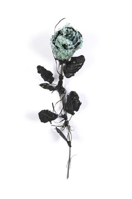 ", 'Rose with Leaves No. 2"",' , Hashimoto Contemporary"