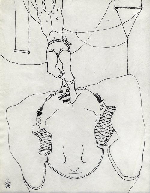 Jean Cocteau, 'TRAPEZISTES', Galerie des Modernes