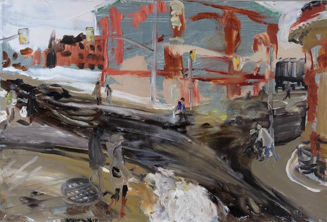 , 'Somerset and Bank, Ottawa, December 23, 2016,' 2017, Robert Kananaj Gallery