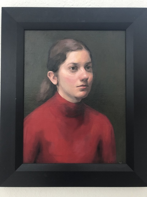 , 'Julia in Red,' 2017, design art concepts