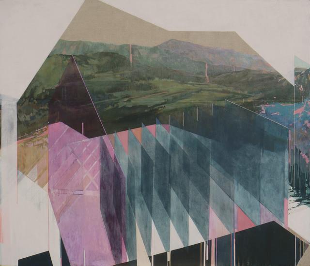 , 'Deconstructing Rectangles in the Woods,' 2017, Galerie D'Este