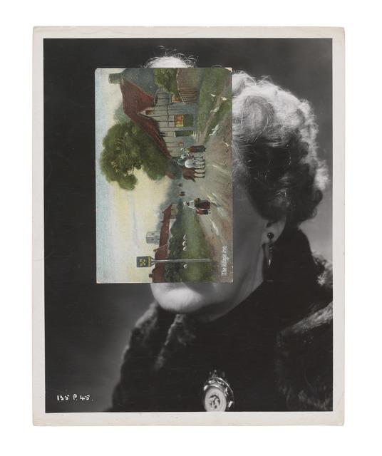 John Stezaker, 'Mask C', 2008, Saatchi Gallery Benefit Auction
