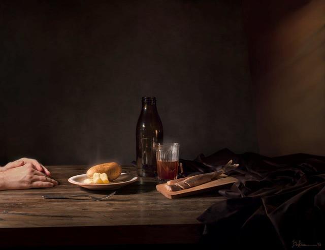 , 'Late Supper,' 2015, Galerie Lilja Zakirova