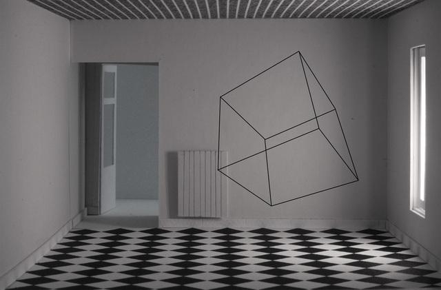 , 'Cubo en caja,' 2016, Fernando Pradilla/El Museo