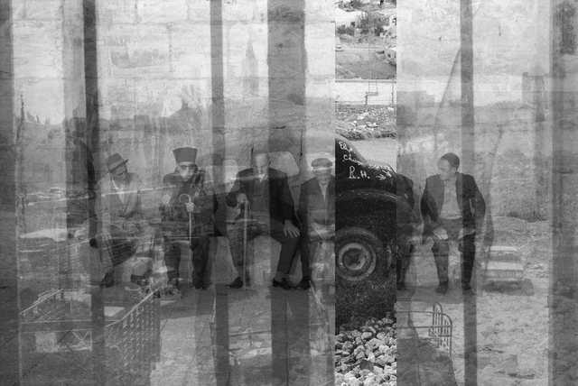 , '6 Men – Jerusalem,' 2014, Pari Nadimi Gallery
