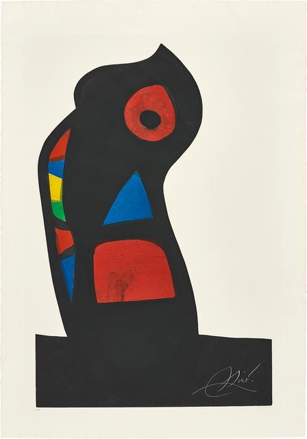 Joan Miró, 'L'Oustachi (The Ustachi)', 1978, Phillips
