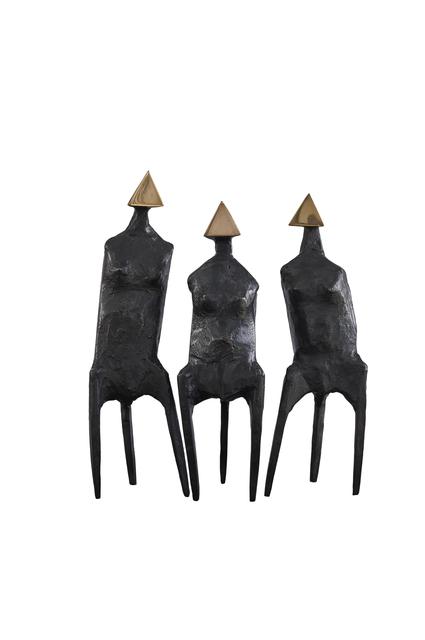 , 'Three Standing Figures,' 1987, Galeria Freites