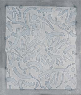 , 'Untitled (Marks #1),' 2012, Roberts & Tilton