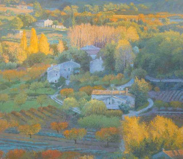 , 'Autumn in Provence,' 2018, Catto Gallery
