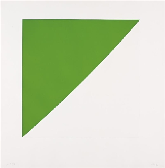 Ellsworth Kelly, 'Green Curve with Radius of 20'', 1974, Hamilton-Selway Fine Art