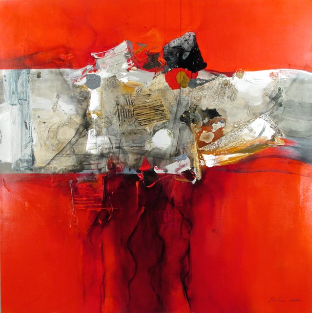 Hyun Jou Lee, 'A Journey Into Life', 2020, Painting, Mixed media on canvas, Thompson Landry Gallery