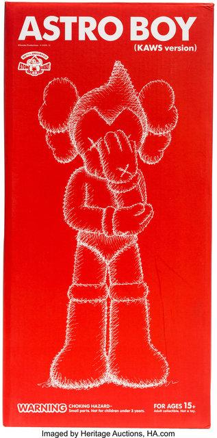 KAWS, 'Astro Boy', 2012, Sculpture, Painted cast vinyl, Heritage Auctions