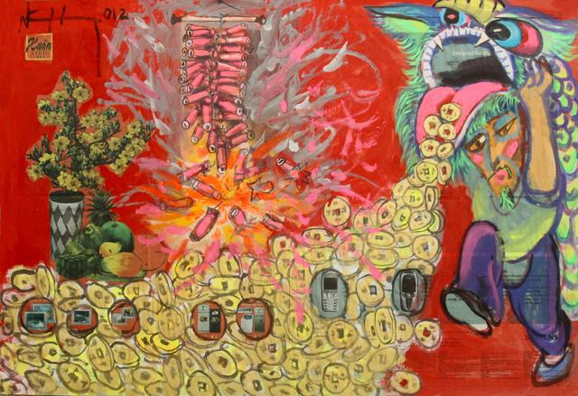 , 'Tet Holidays Fireworks,' 2012, Art Vietnam Gallery