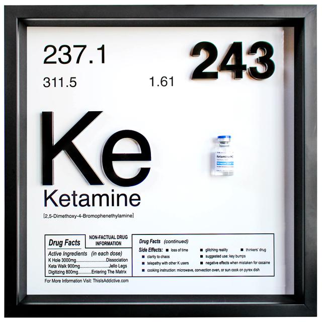 , 'KETAMINE,' 2018, Marcel Katz Art