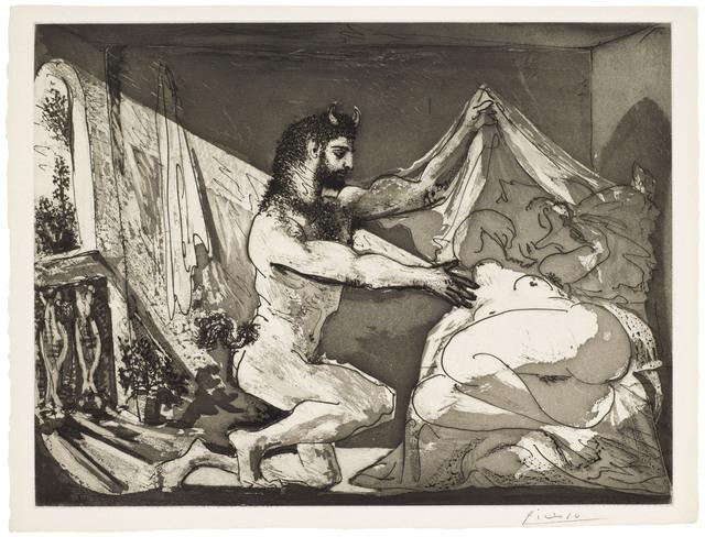 Pablo Picasso, 'Faune dévoilant une femme, from La Suite Vollard', 1936, Christie's