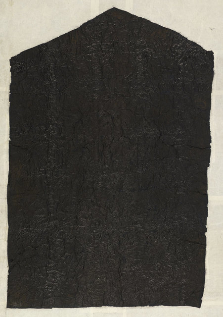 Yang Jiechang 杨诘苍, 'A Feudal Vassal's Jade Memorial Tablet 诸侯瑹', 1989-1990, Ink, gauze, xuan paper, Ink Studio