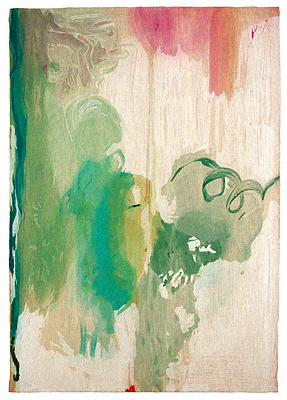 Helen Frankenthaler, 'Snow Pines', 2004, Print, Thirty-four water based color Ukiyo-e style woodcut, Talley Dunn Gallery