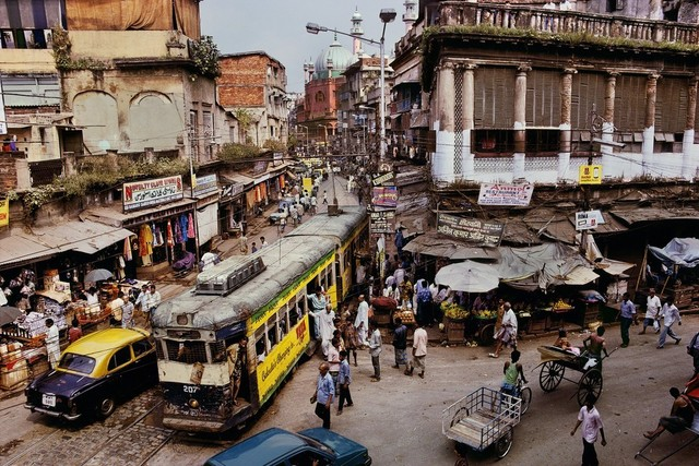 , 'Tram, Calcutta, India,' 1997, Etherton Gallery