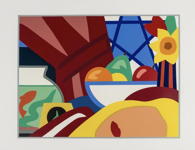 Tom Wesselmann, 'Still life with blonde', 1999, Print, Screenprint in colors, Okker Art Gallery