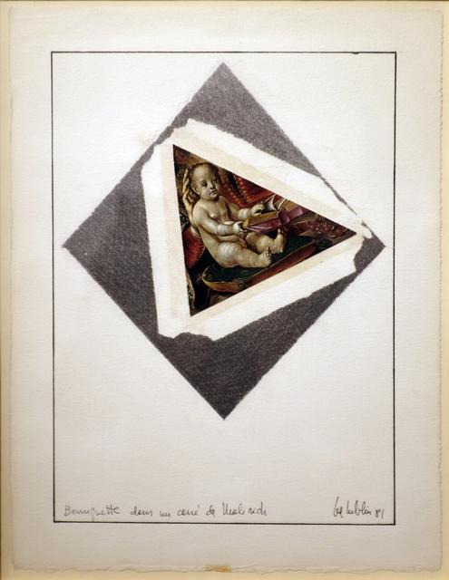 , 'Berruguete dans le carré de Malevich,,' 1981, espaivisor - Galería Visor