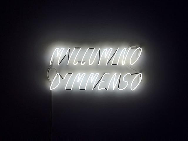 , 'M'Illumino d'Immenso,' 2009, Lia Rumma