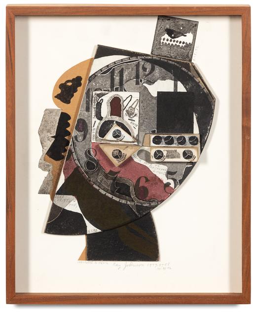 Ray Johnson, 'Christophe de Menil Silhouette', Hindman