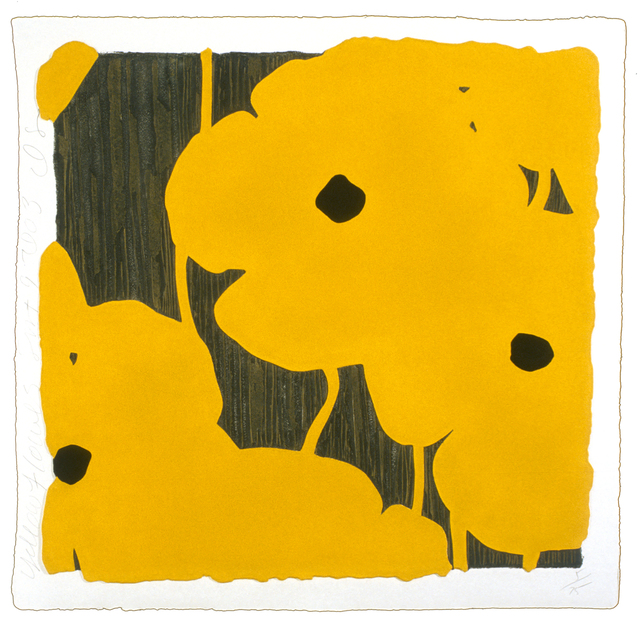 , 'Yellow Flowers,' 2003, Mixografia