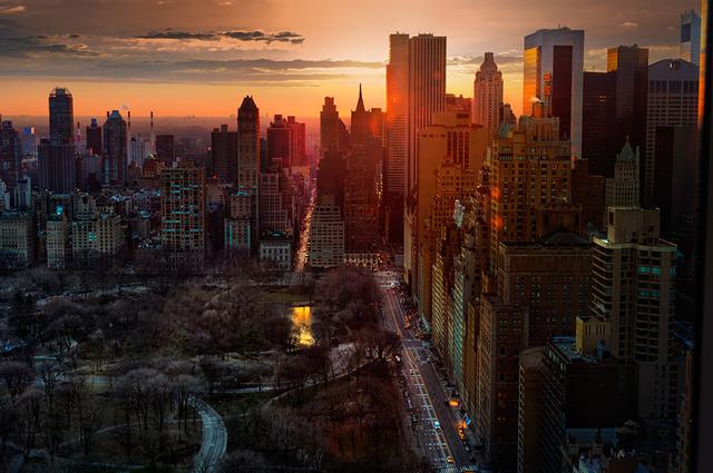 David Drebin, 'High Rise   Manhattan   New York City', 2013, CHROMA GALLERY