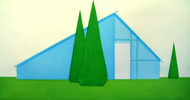 , 'Untitled (Persian Blue House),' 2004, Paulson Fontaine Press