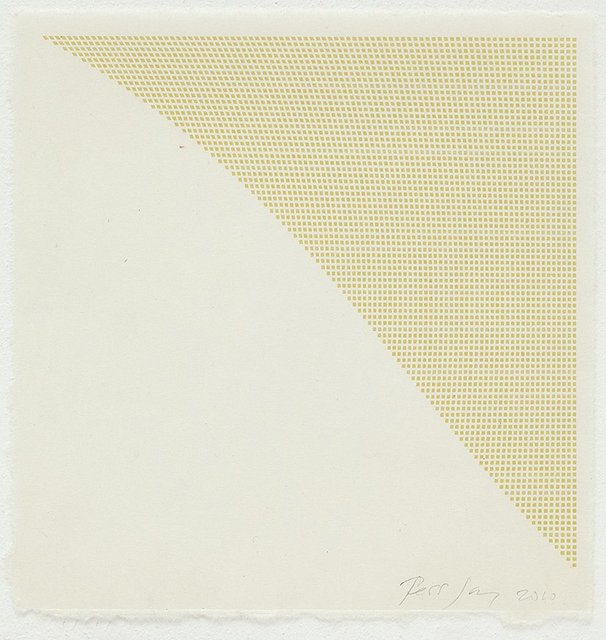 , 'Untitled (Yellow-green Corner),' 2010, Karsten Schubert