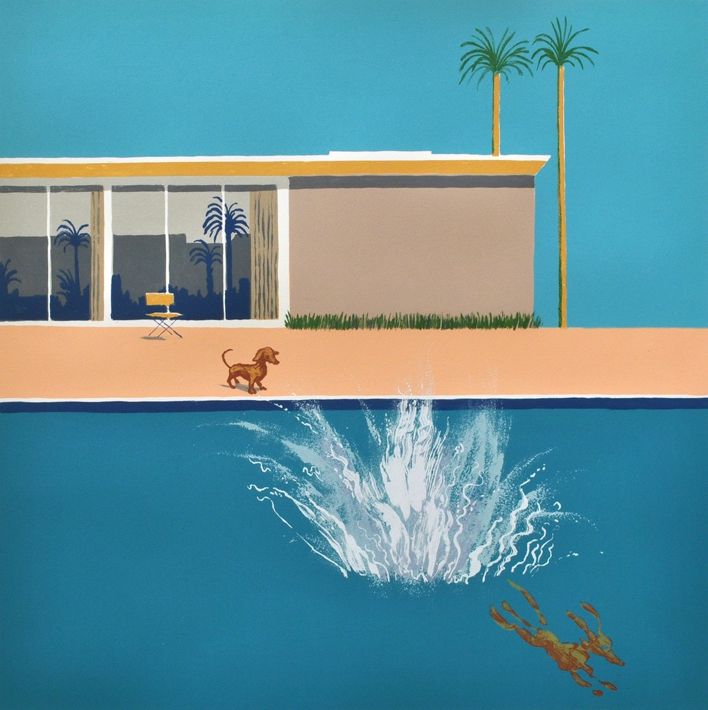 Hockney's Dog - Bigger Splash