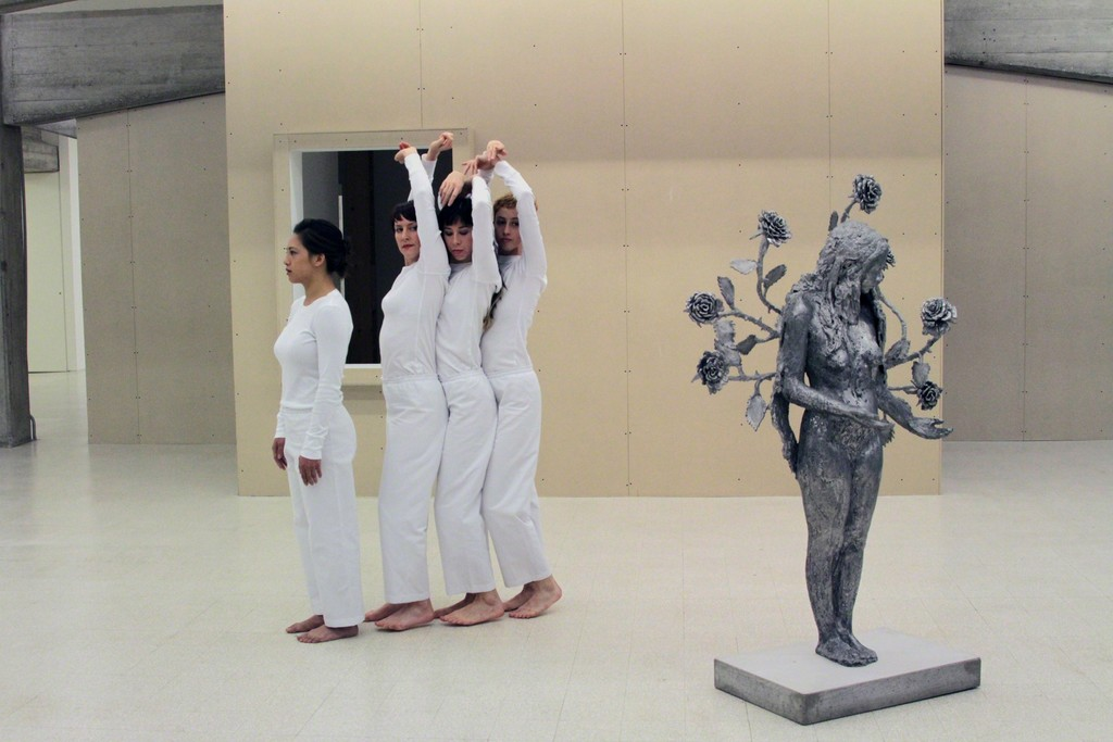 "Trisha Brown, ""Spanish Dance"" at Collezione Maramotti"