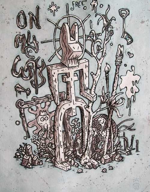 Speedy Graphito, 'ON MY WAY HIVER ', Galerie Vivendi