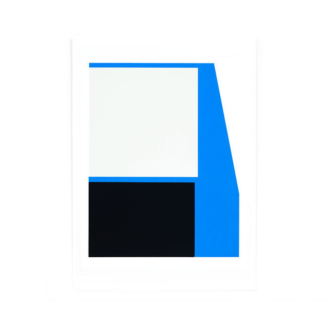 Johan Van Oeckel, 'Untitled (Blue, black and light grey)', 2019, Alfa Gallery