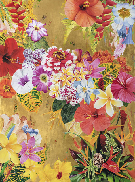 , 'Gild the Lily #1,' 2017, Meyerovich Gallery