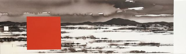 , 'Approaching Rain, Central Australia,' 2018, Art Atrium