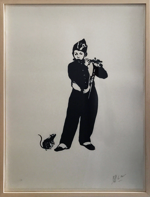 , 'The Piedpiper (Le Fifre),' 2015, Galerie Kronsbein