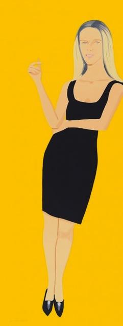 Alex Katz, 'Black Dress Portfolio - Yvonne', 2015, Gregg Shienbaum Fine Art