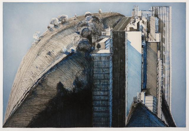 , 'Dark Country City,' 1988, Nohra Haime Gallery