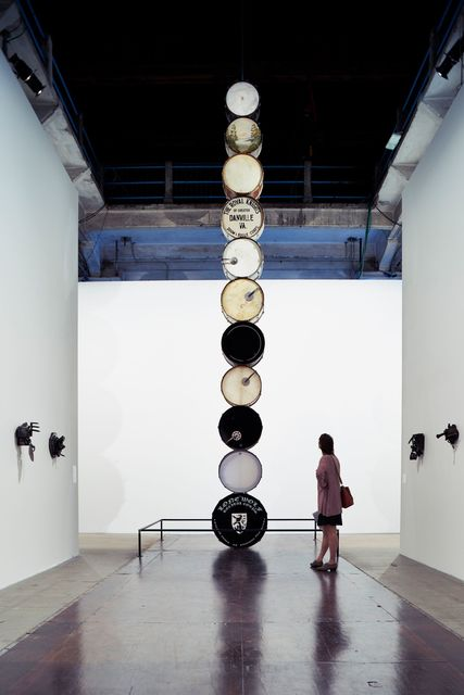 Terry Adkins, 'Muffled Drums (Installation view)', 2003, 56th Venice Biennale