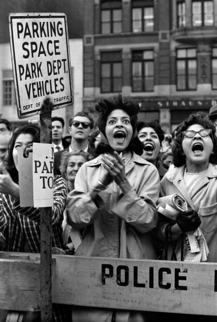 , 'Pro-Castro protest in front of the UN, New York City,' 1961, KP Projects