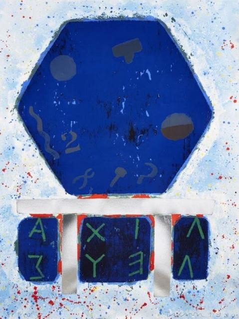 Joe Tilson, 'The Shield of Achilles', 1990, Alpha 137 Gallery
