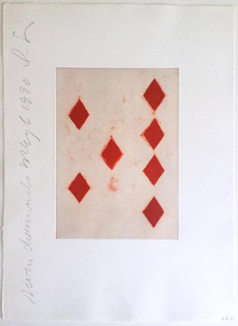Donald Sultan, 'Seven Diamonds', 1990, Chelsea Art Group