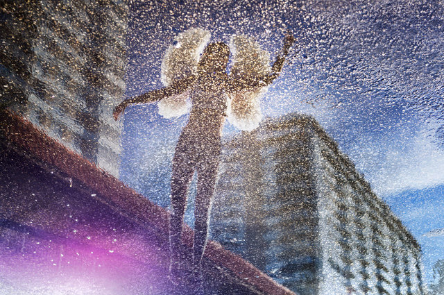 David Drebin, 'Glittering Angel', 2014, Photography, Chromogenic Print, CHROMA GALLERY