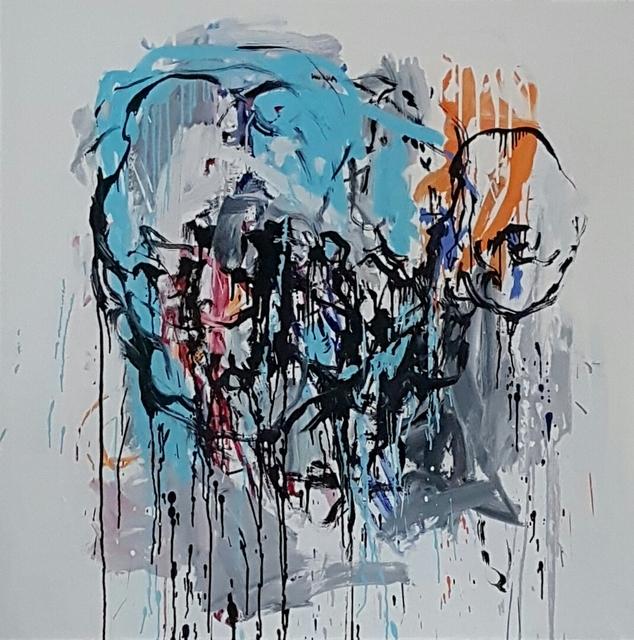 Klaus Prior, 'Visi', 2016, Painting, Oil on canvas, GALERIE URS REICHLIN