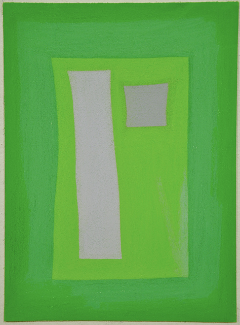 , 'Untitled (Mauve and Green Shapes),' 2010, Fleisher/Ollman