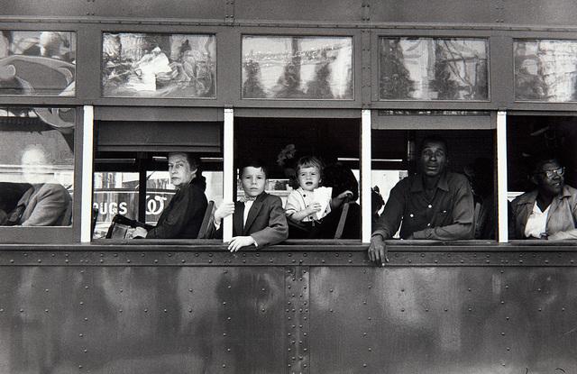 Robert Frank, 'Trolley, New Orleans', 1955, Phillips
