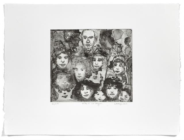 Jean-Pierre Larocque, 'Têtes à la sanguine', 2010, Atelier-Galerie A.Piroir